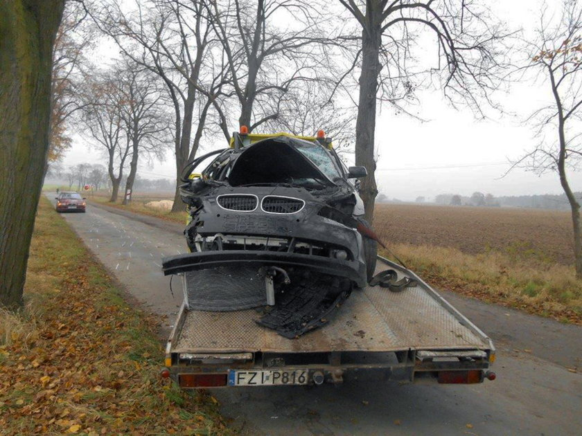 Wypadek w woj. lubuskim