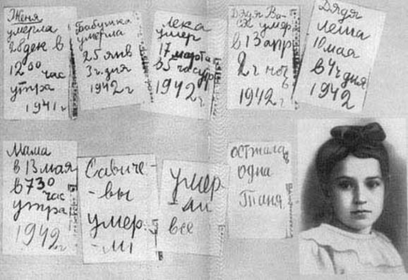 Dnevnik Tanje Savičeve