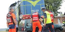 Zderzenia auta z lokomotywą
