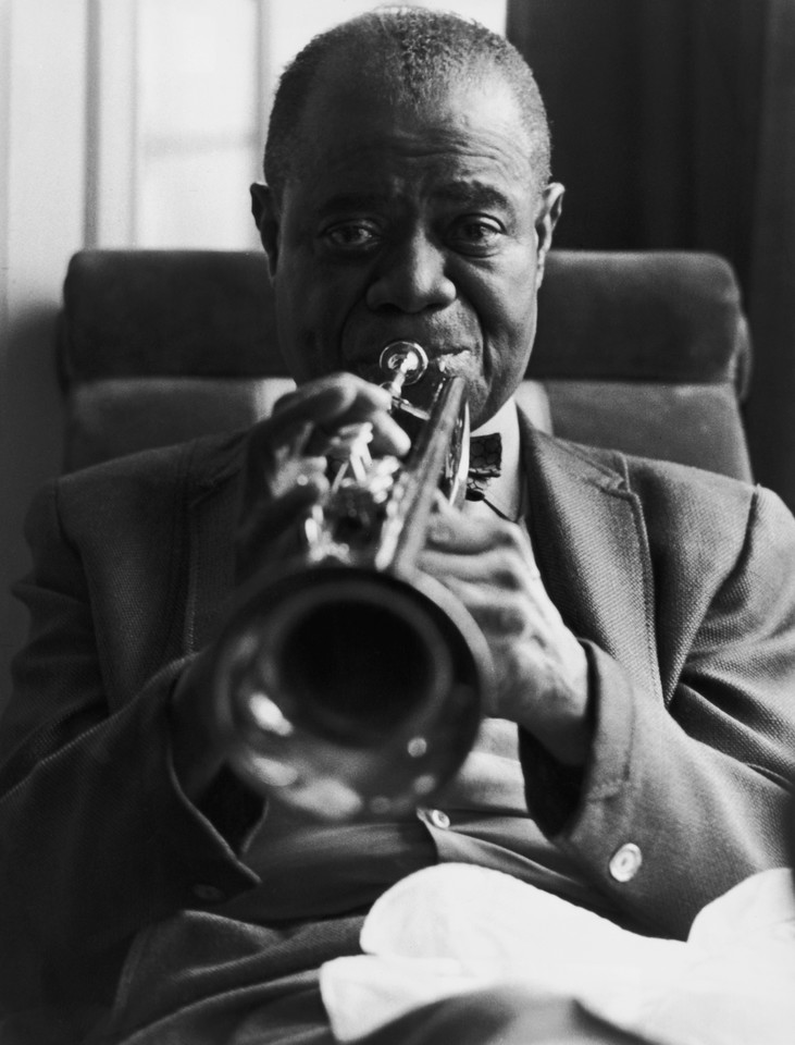 Louis Armstrong (fot. Getty Images)