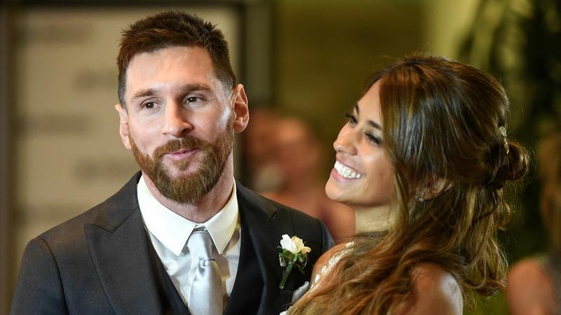 Lionel Messi i Antonella Roccuzzo
