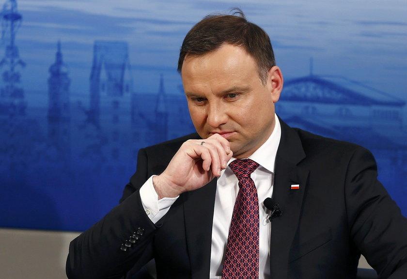 Andrzej Duda krytycznie o Nord Stream II
