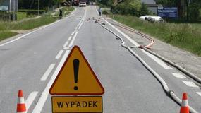 Wypadki drogowe posłów