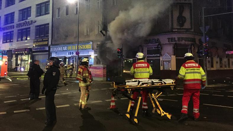 Niemcy: do ataków na pracowników policji i służb ratunkowych doszło m.in. w noc sylwestrową