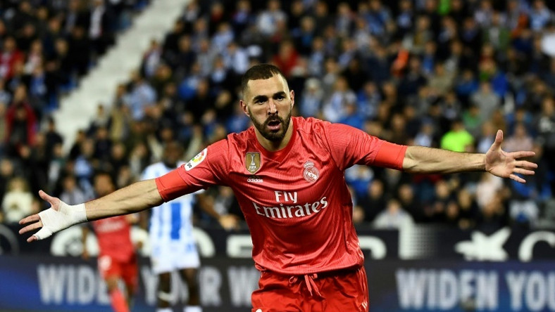 Karim Benzema was on target again for Real