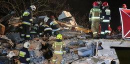 """Tragedia w Włodzimierzowie. Dom zawalił się, w środku była rodzina. """"Wszyscy się modlą"""""""