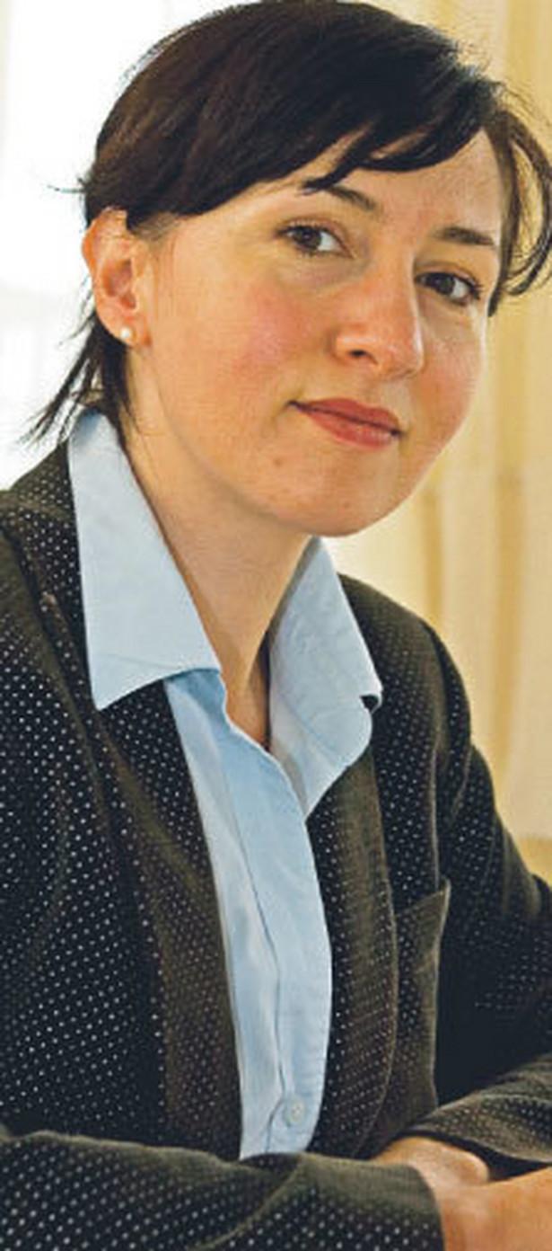 Monika Ulatowska, dyrektor operacyjny Stowarzyszenia Agencji Zatrudnienia zrzeszającej 42 firmy z Polski. Fot. Wojciech Górski