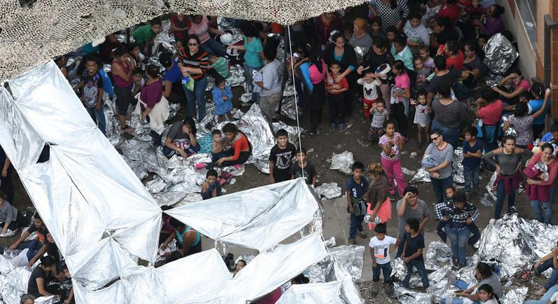 Squalor is pervasive in migrant detention centers, a report finds