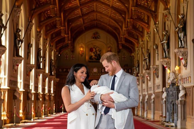 Megan Markl i princ Hari sa sinom Arčijem
