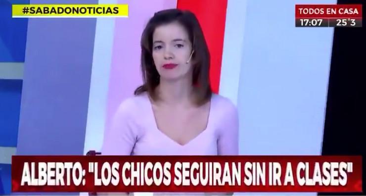 Voditeljka iz Argentine