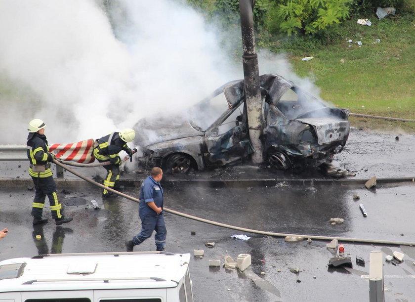 Wypadek w Kijowie