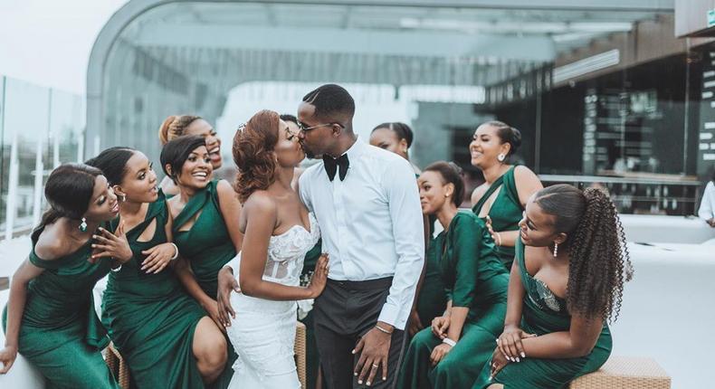 Top Tanzanian rapper Gnako weds longtime girlfriend in an exquisite affair (Photos)
