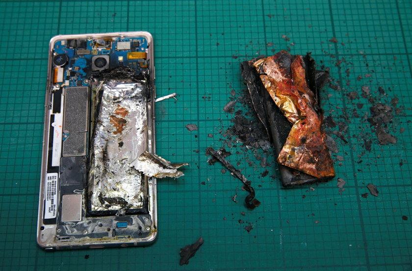 Niebezpieczny Samsung Galaxy Note 7