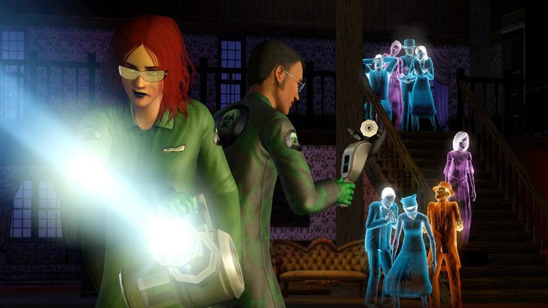 """Kadr z gry """"The Sims 3: Kariera"""""""