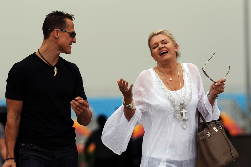 Skandaliczny artykuł tygodnika Die Aktuelle o separacji w małżeństwie Michaela Schumachera