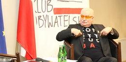 """Lech Wałęsa w Rzeszowie o swojej koszulce: """"Pochowacie mnie w niej"""""""