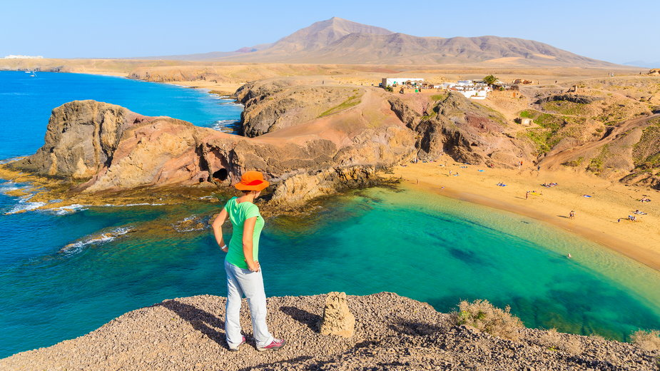 Plaża Papagayo, Lanzarote, Wyspy Kanaryjskie