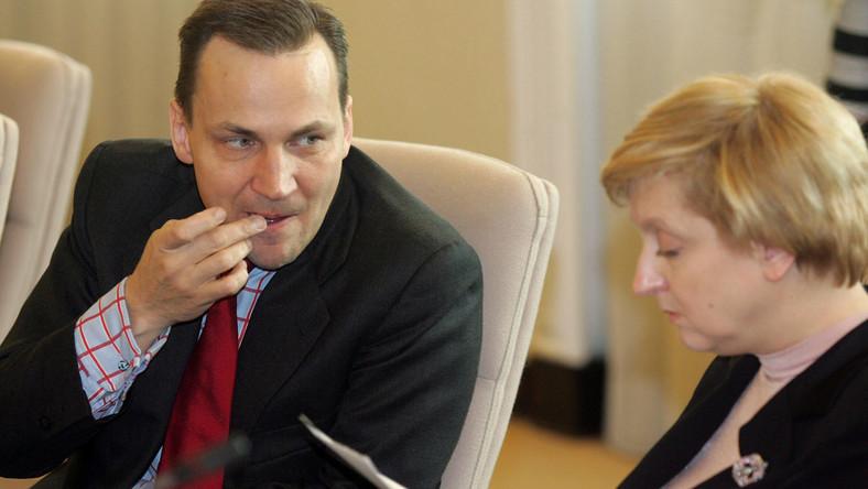 Sikorski: Popieram Fotygę  na ambasadora