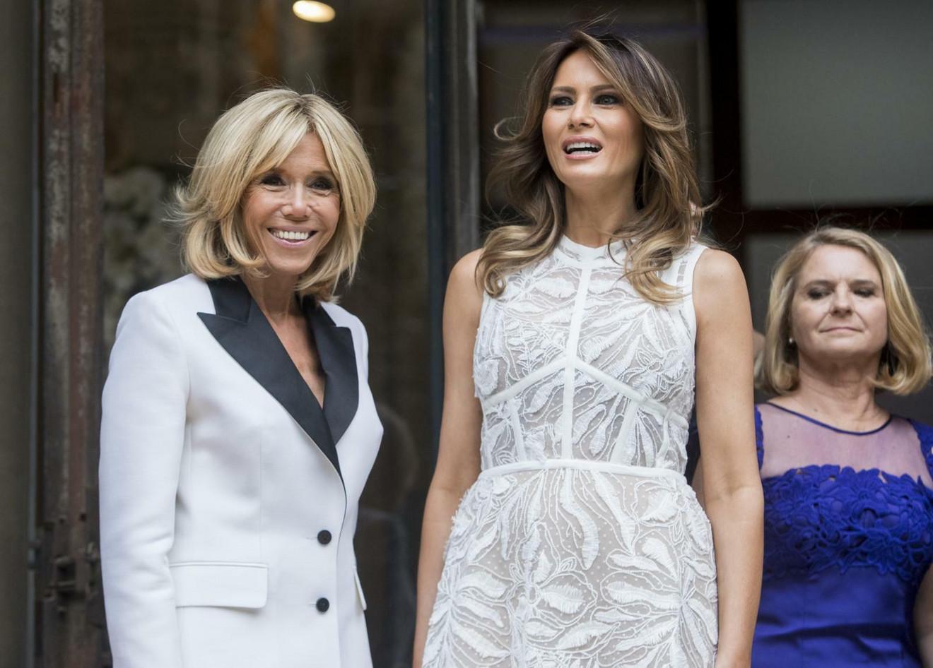 Melanija Tramp i Brižit Makron: pogledajte damu iza njih