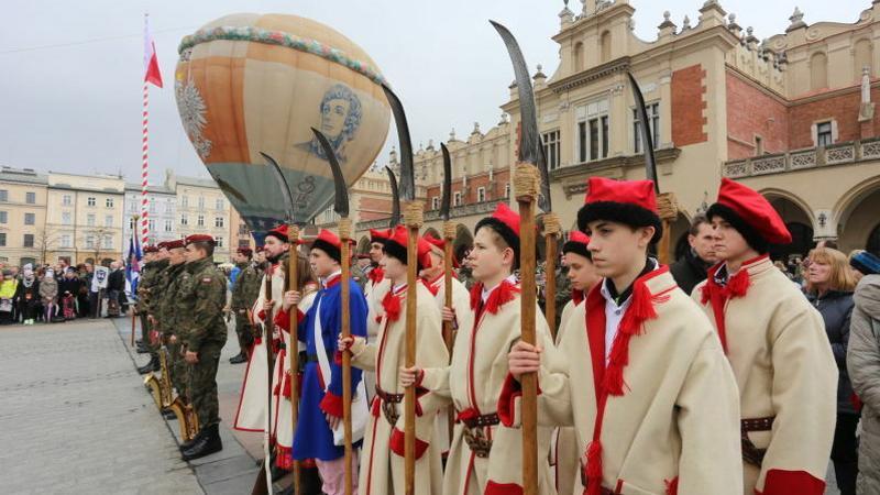 Inauguracja Roku Kościuszkowskiego w Krakowie