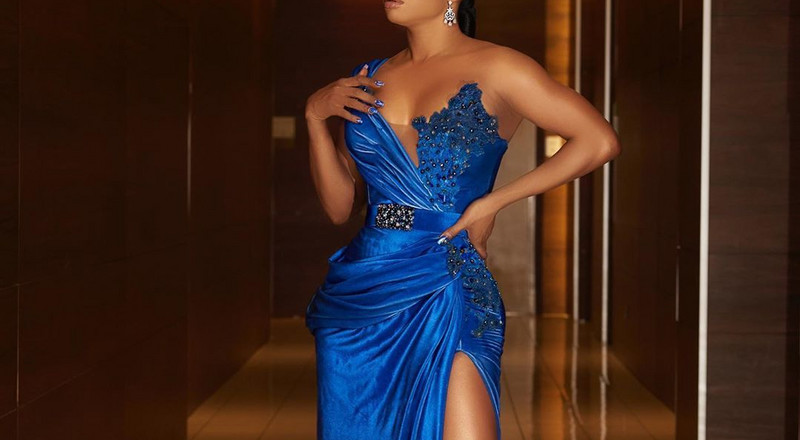 Manicure Monday: Toke Makinwa took nail art to the next level at the #AMVCA7
