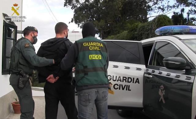Hapšenje u Španiji