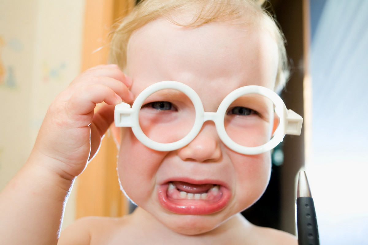 Резултат слика за beba sa naočarima