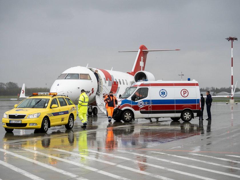 Specjalny samolot Swiss Air Rescue