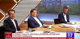 Awantura w studiu TVP Info. Politycy opuścili program