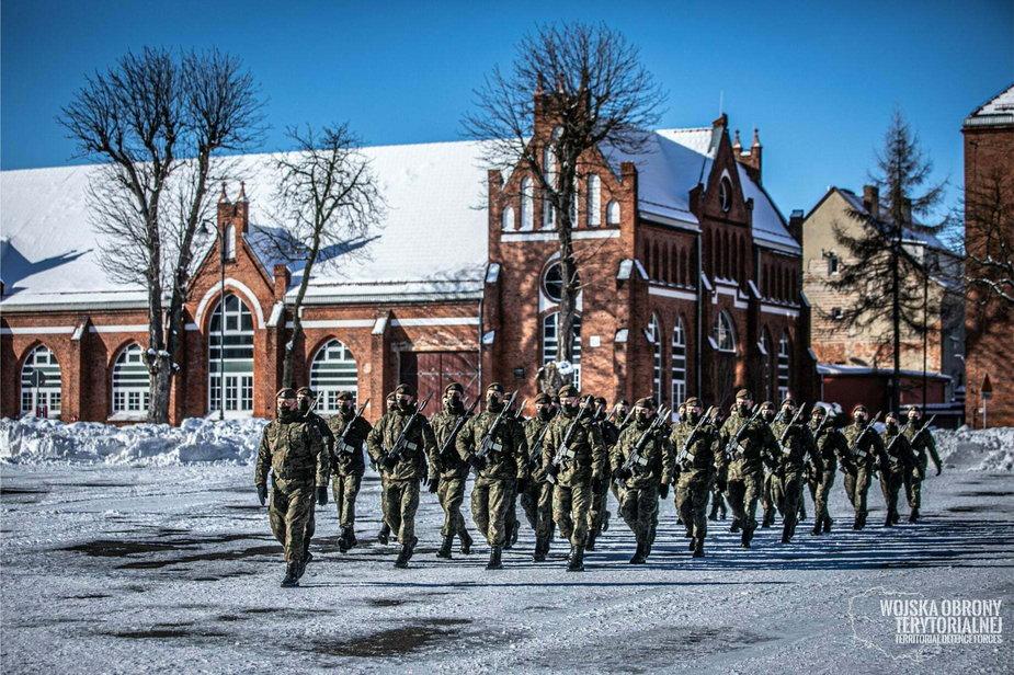 7 Pomorska Brygada Obrony Terytorialnej w Gdańsku.