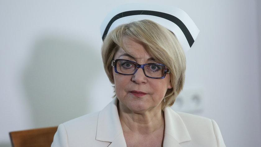 Pacjenci mogą być spokojni – twierdzi szefowa NIPiP Zofia Małas.