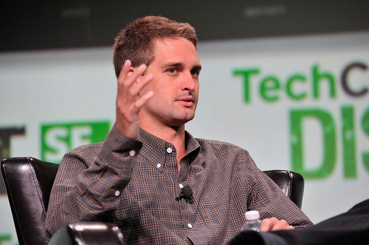 Założyciel i CEO Snapchata Evan Spiegel