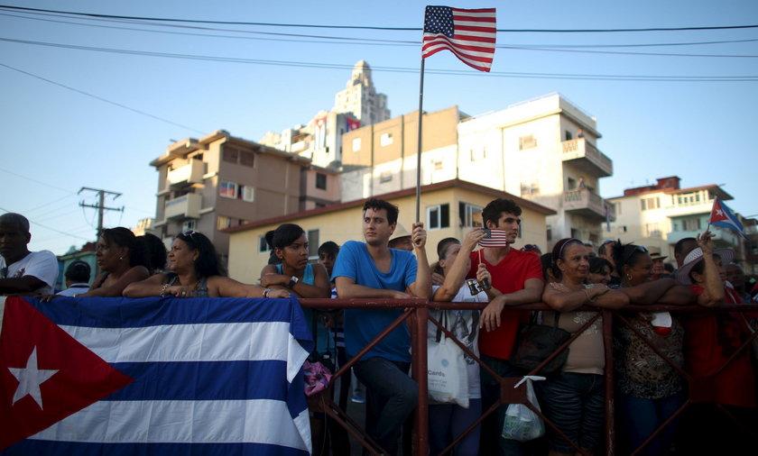 USA ostrzega przed podróżami na Kubę