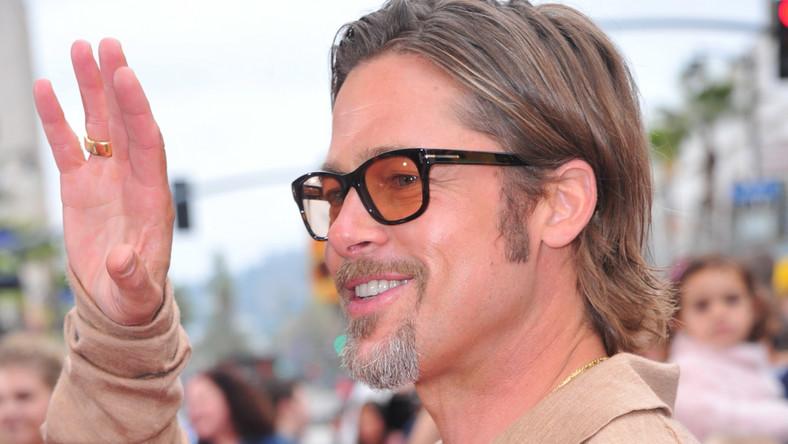 Brad Pitt już nie pali