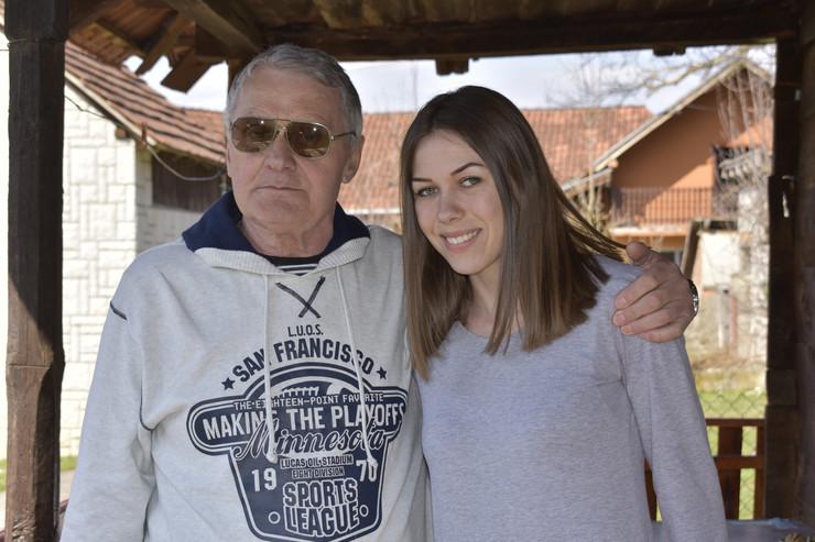 Image result for Milojko Božić i njegova 53- godine mlađa supruga, Miljana Bogdanović