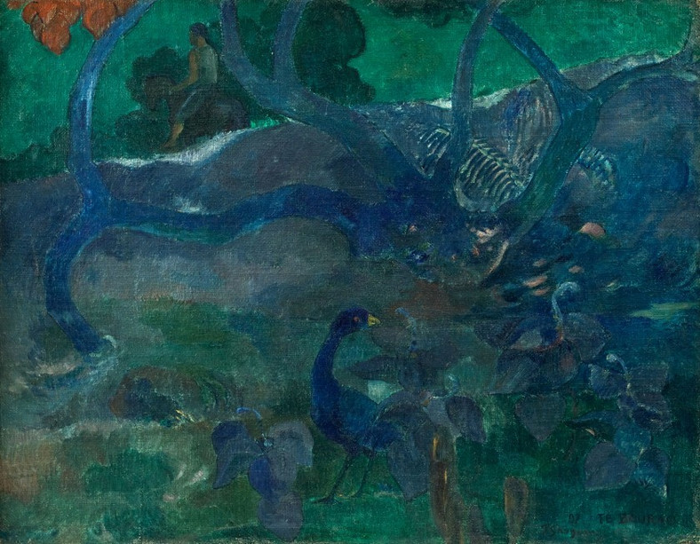 "Paul Gauguin, ""Te Bourao (II)"""