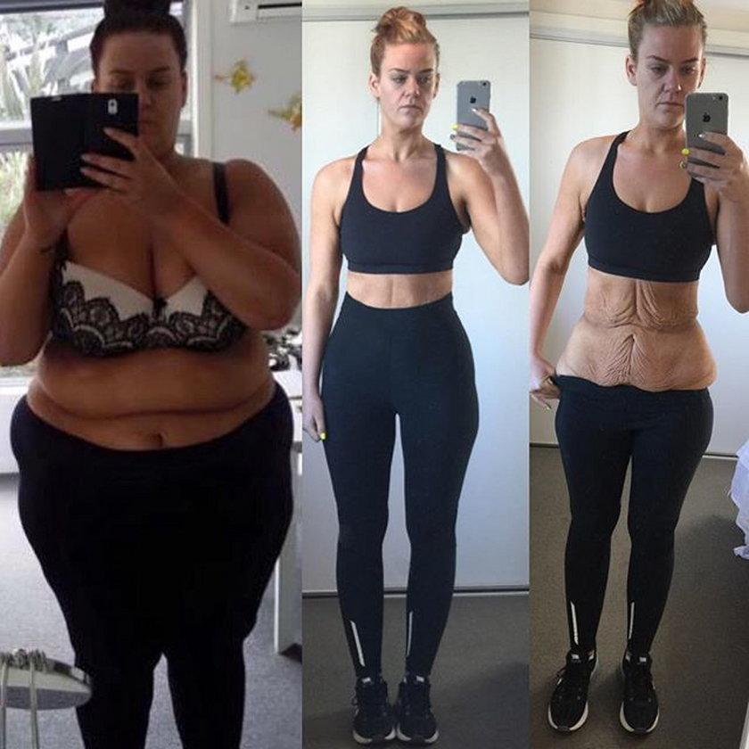 W 11 miesięcy schudła 83 kilo