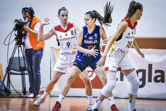 Nikolina Deurić je bila najefikasnija u srpskom timu