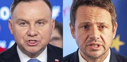 Pierwsza bitwa Andrzeja Dudy i Rafała Trzaskowskiego!