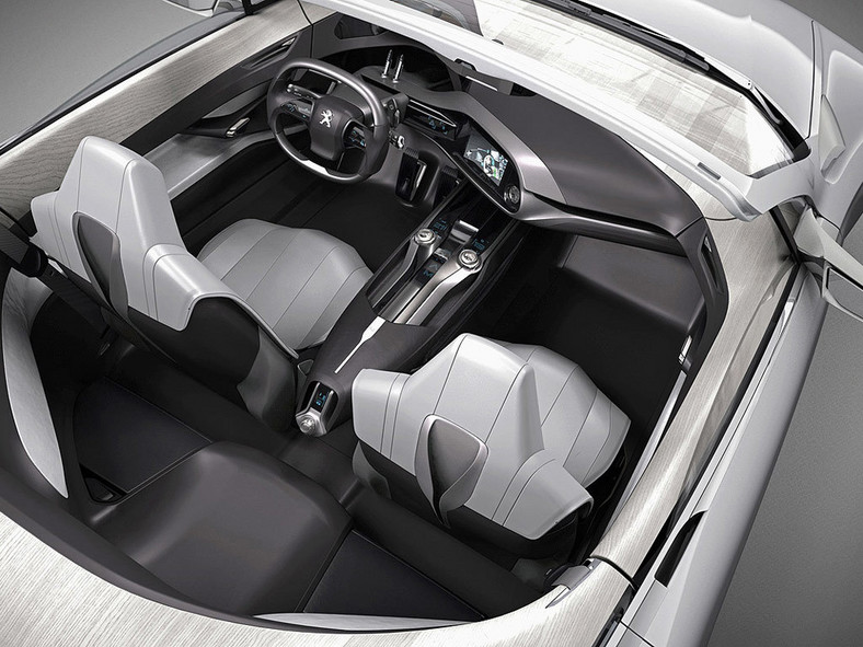 Peugeot SR1 - wszystkie koła skrętne