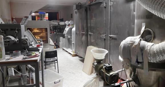 Laboratorija otkrivena prilikom najnovijeg hapšenja