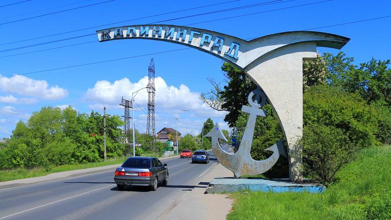 Droga prowadząca do Kaliningradu