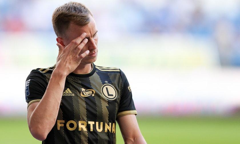 Warszawa: piłkarz Paweł Stolarski spowodował poważny wypadek