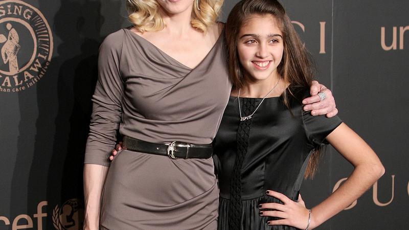 Madonna ze swoją córką Lourdes