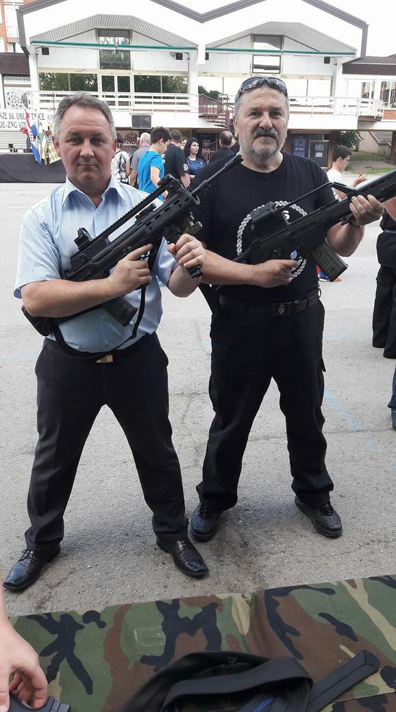 Stevo Culej (levo)