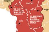 grafika mapa velike albanije foto RAS