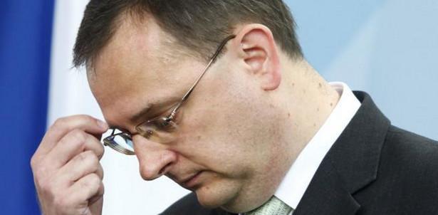 Premier Czech Petr Neczas