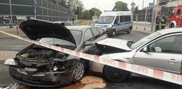 Wypadek w Łodzi. Ranne dzieci
