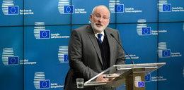 Timmermans w Polsce. Przyjechał rozmawiać o praworządności