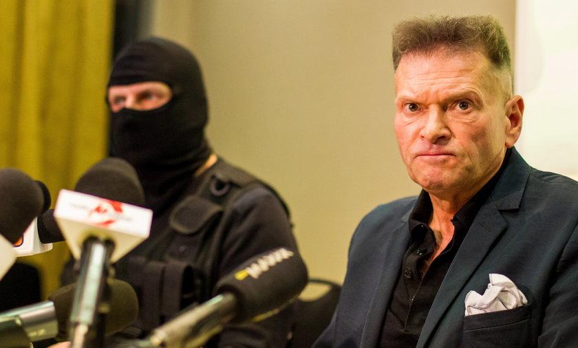 Krzysztof Rutkowski pada sprawe kradzieży w Wałbrzychu